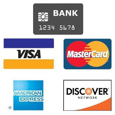 Bank Cards. Visa, MasterCard, Discover & American Express Accepted at Olivia Hardware