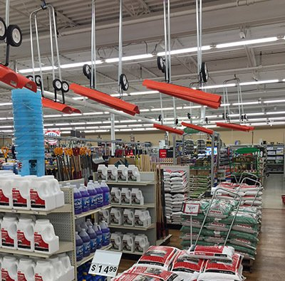Snow removal gear at Newbys Ace Hardware