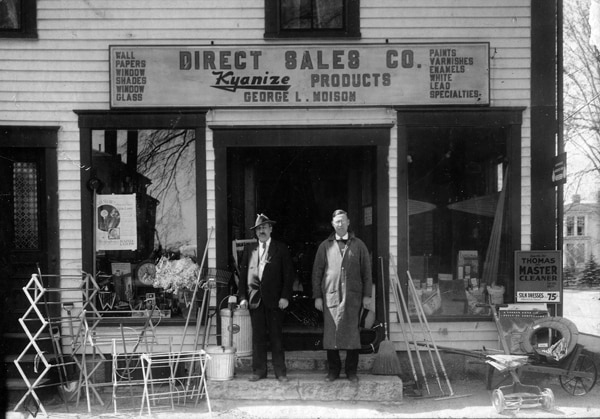 1930's Moison Hardware Store Location