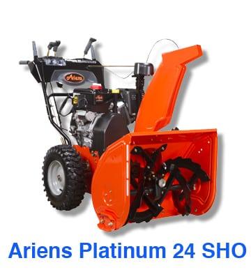 Ariens Platinum 24 SHO
