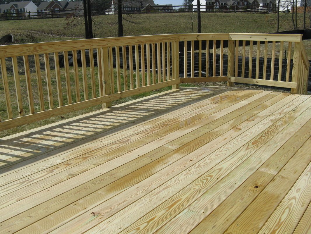 Decking hamshaw lumber ace hardware for Best timber for decking