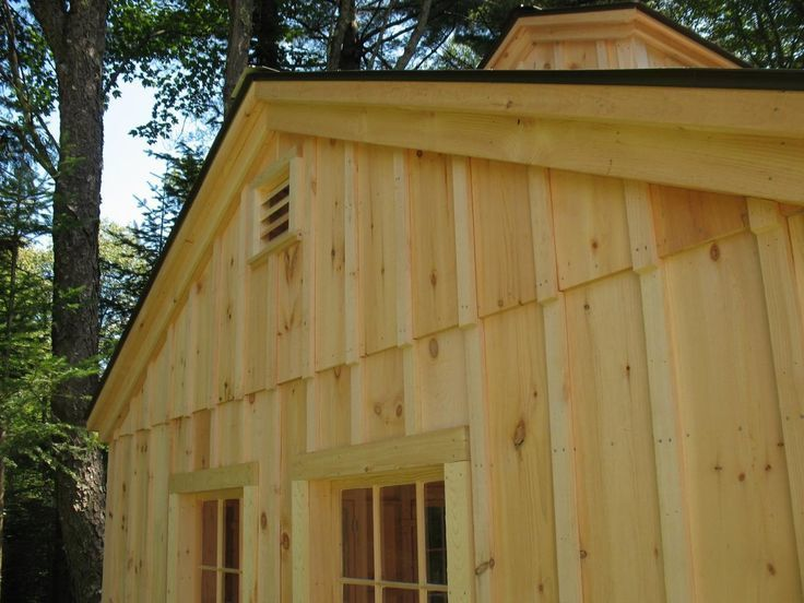 Siding hamshaw lumber ace hardware for Vertical wood siding options