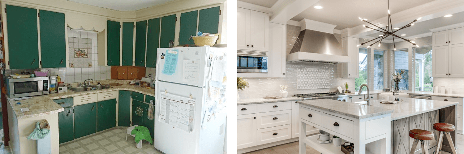 Old Kitchen vs. New Kitchen
