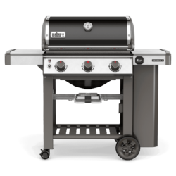photo of a genesis 3 burner weber grill