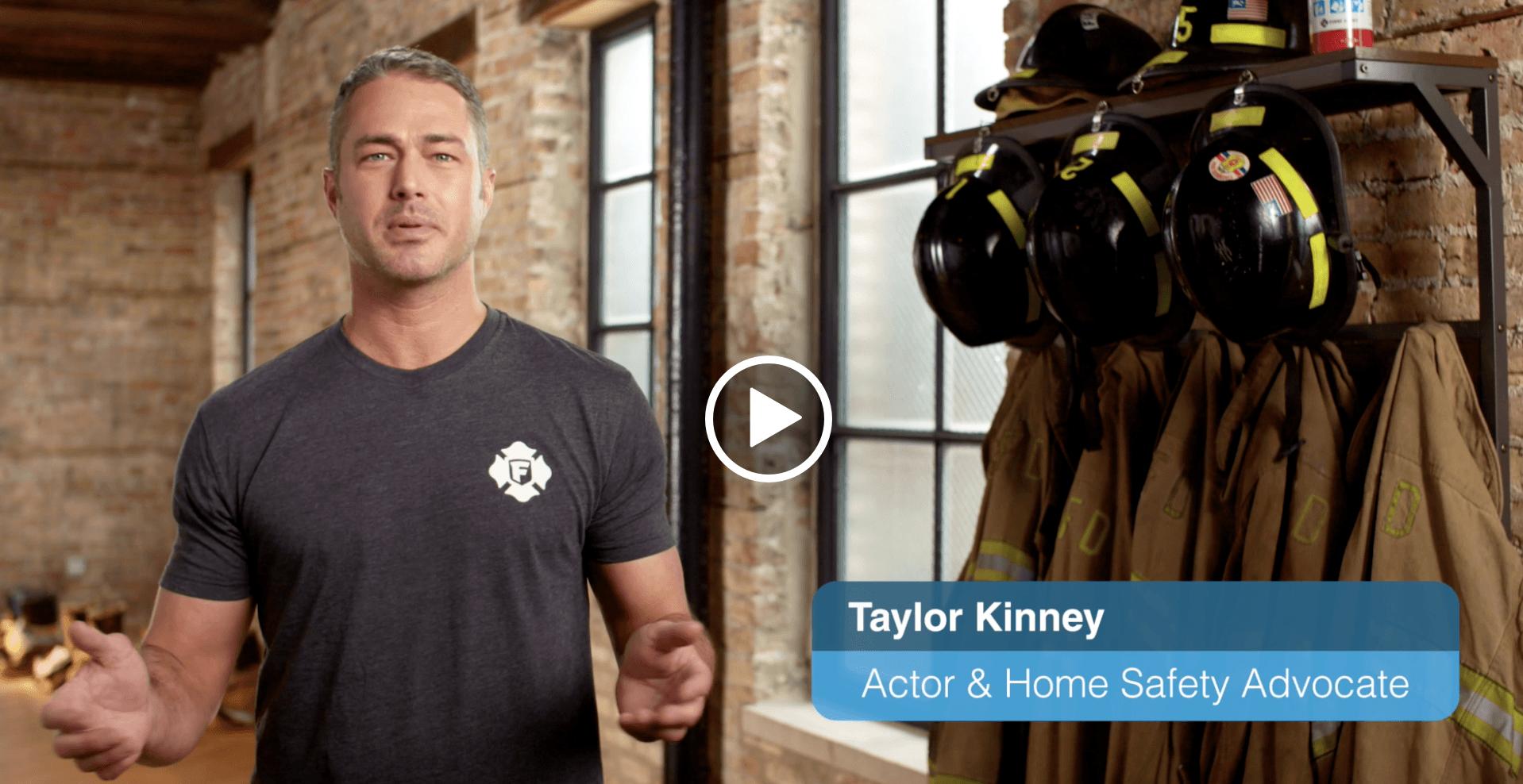 taylor kinney explaining carbon monoxide safety for first alert