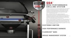 GS4 High Performance Weber Grilling System diagram