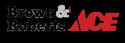 brown & roberts ace logo