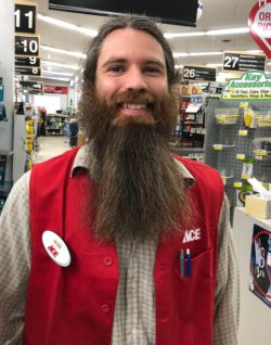 peter casselman, manager of bibens ace hardware store in colchester