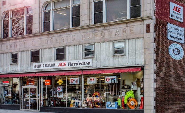 Bibens Ace Brattleboro store front