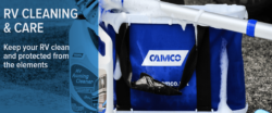 Camco RV Products featuring cleaning supplies
