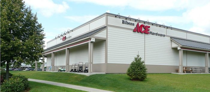 Exterior shot of bibens ace essex