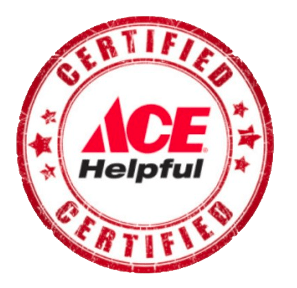 Ace Helpful Certified Stamp