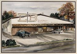Original Bibens Home Center, Springfield, VT, 1949