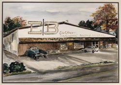 Original Bibens Home Center, Springfield, VT, 1949
