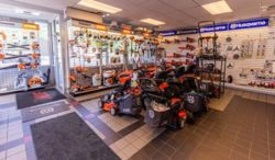 Springfield Small Engine shop featuring Husqvarna & Stihl