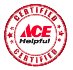 Certified Ace Helpful logo at Bibens Ace