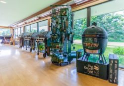 Woodstock Ace grill department featuring Big Green Egg & Weber