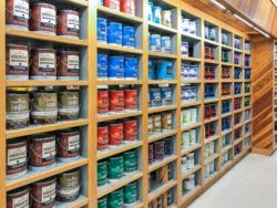 Woodstock Ace paint department featuring Benjamin Moore