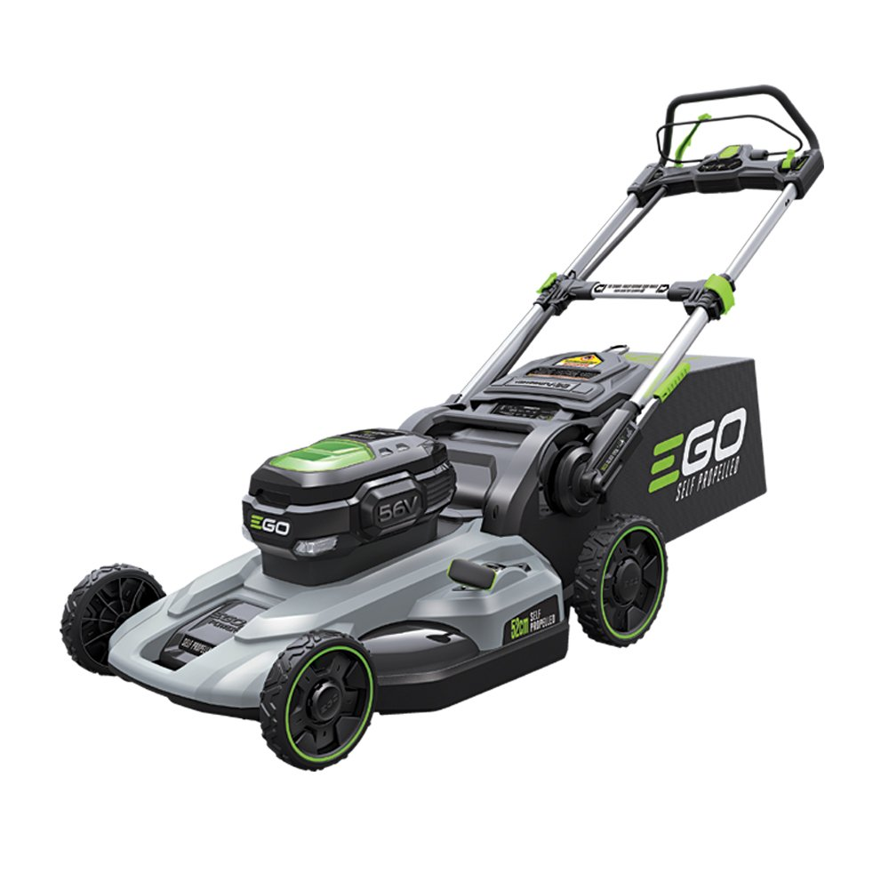 An EGO lawn mower