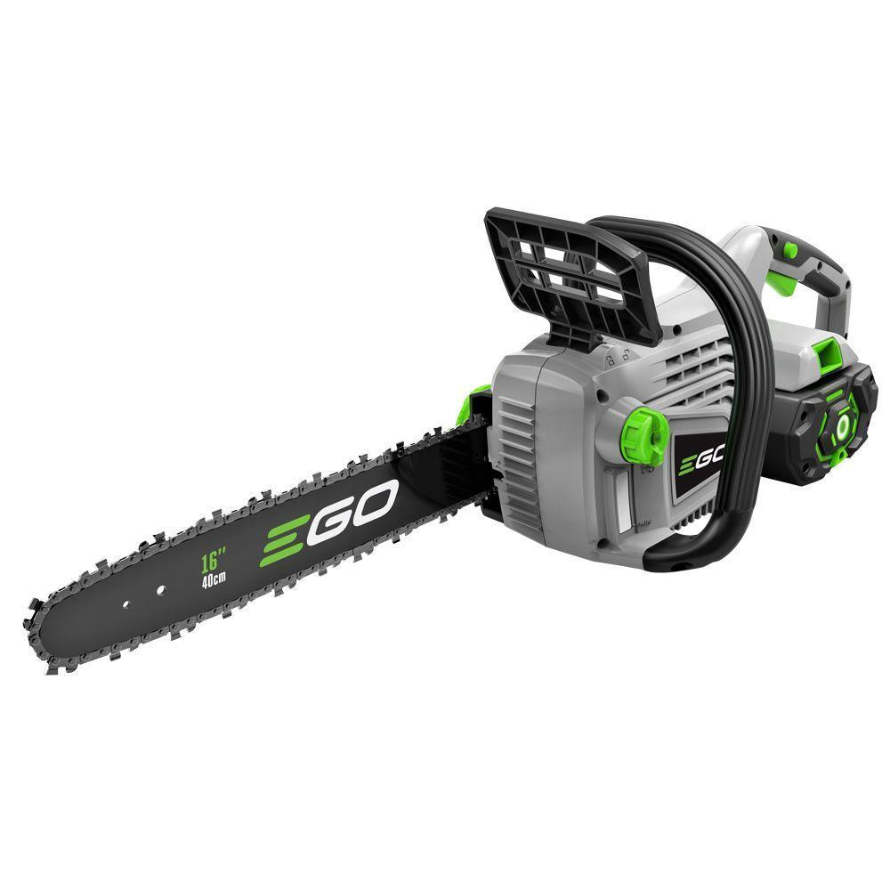 An EGO chainsaw