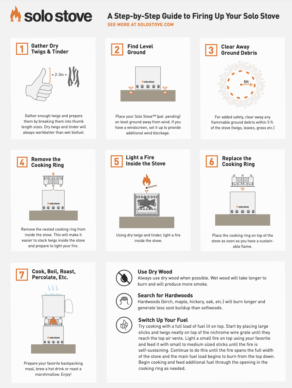 step-by-step guide to firing up your solo stove