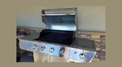 Picture of a Stainless Steel Gas Grill