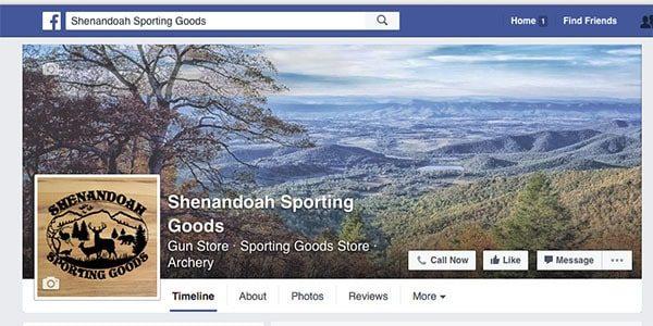 Shenandoah Sporting Goods – Facebook 2A thumbnail