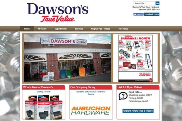 Dawson's True Value Website