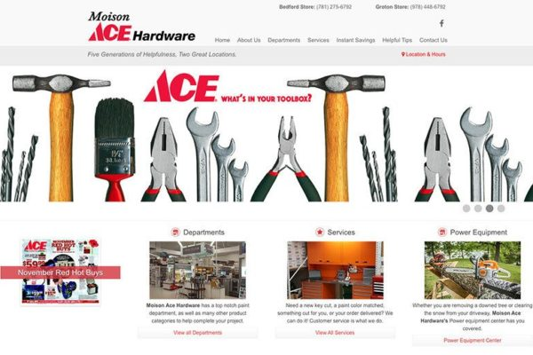 Moison Ace website
