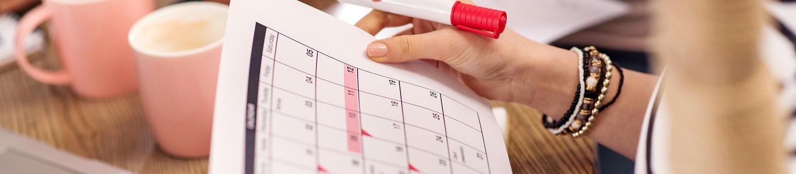 Calendar, Planning