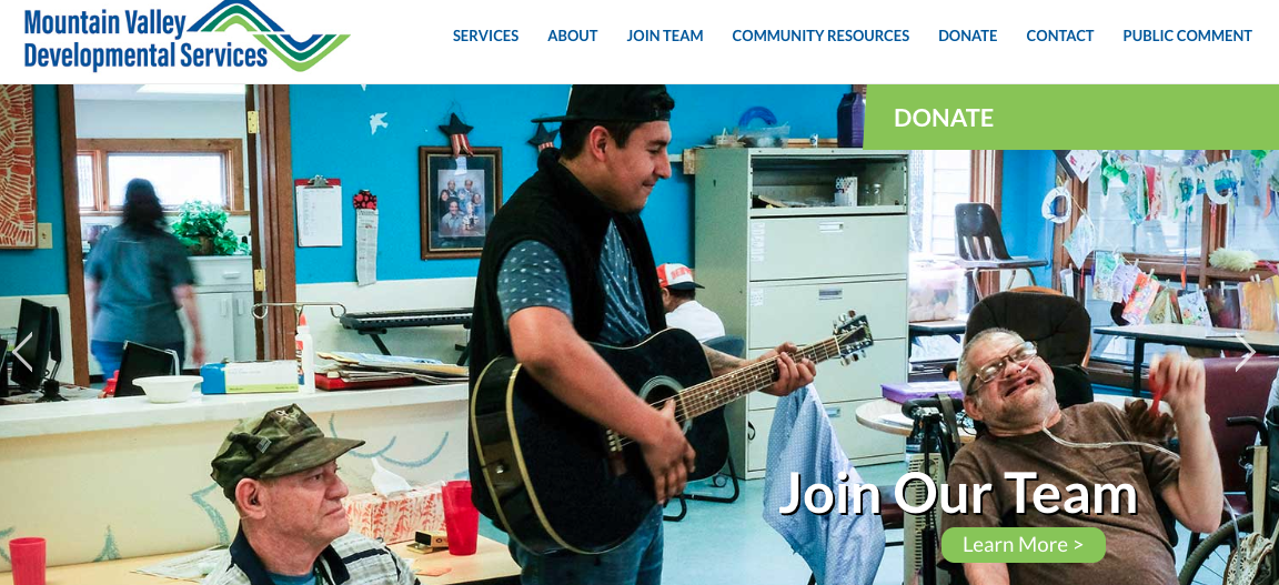 MtnValley.org Home Page