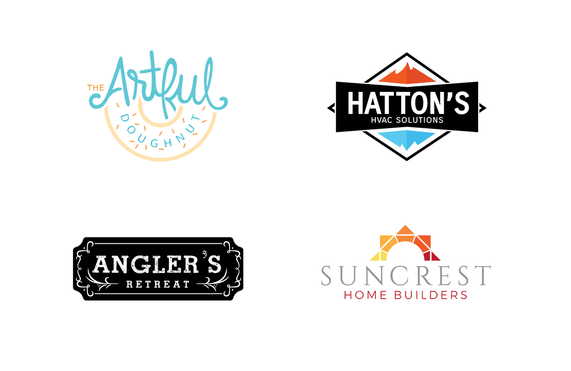 Examples of logos we've created