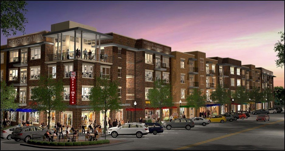 Realty Capital to build $25M mixed-use project in Burleson's Main Street thumbnail