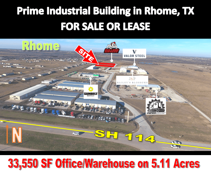 Rhome Industrial Building thumbnail