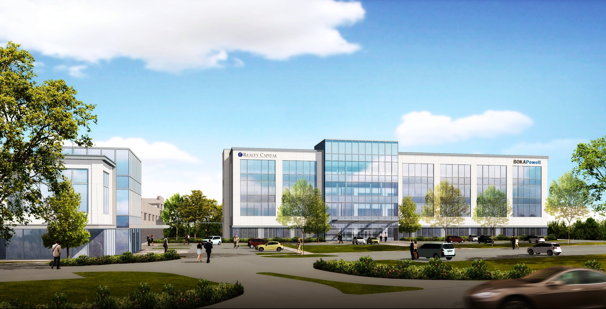 First major office project in Flower Mound's Lakeside district is on the way thumbnail