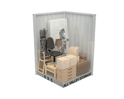 5x5 Storeage Unit