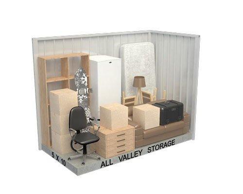 5x10 Storeage Unit