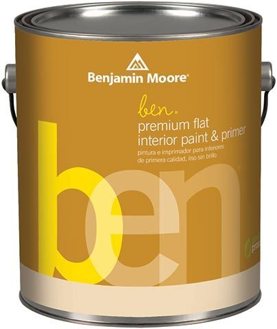Benjamin Moore® ben® premium flat interior paint & primer