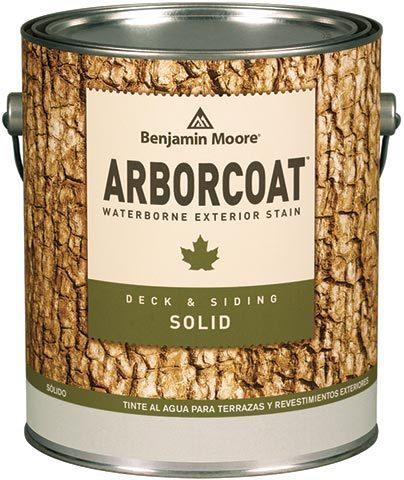 Benjamin Moore® Arborcoat® waterborne exterior stain