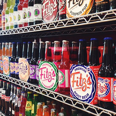 Novelty Sodas