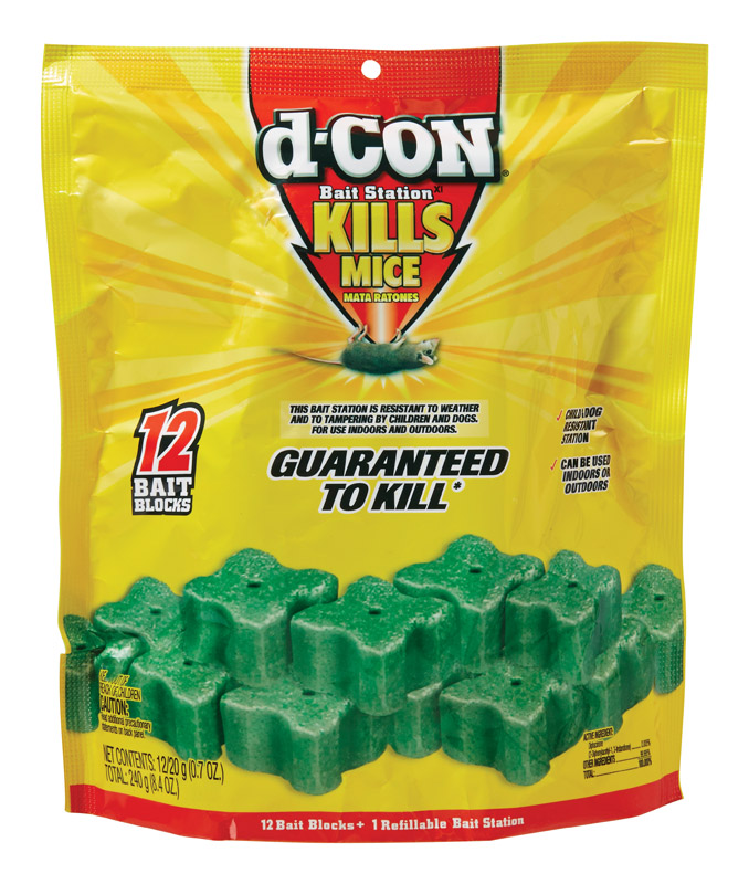 D-Con Rodent Bait Station with 12 Refills thumbnail
