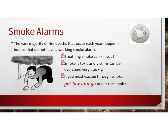 smoke alarms 1
