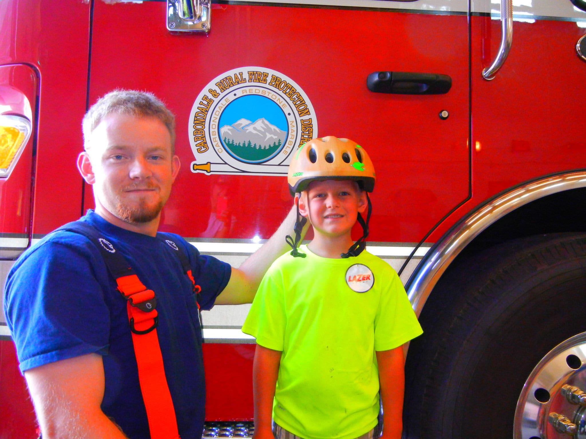 Bike Helmet Giveaway at Mountain Fair thumbnail