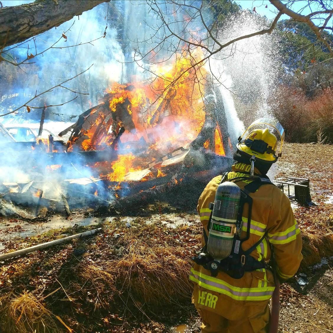 County Road 100 Structure Fire thumbnail