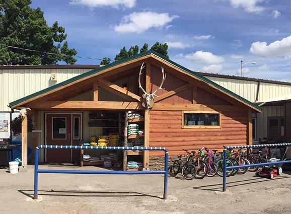 Browning Lumber & Hardware, Browning, Montana