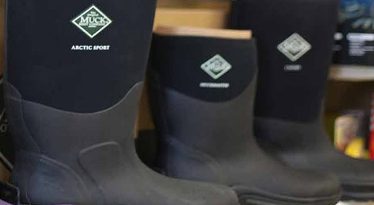 Muck boots for the ranch