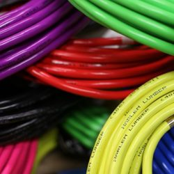 Electrical Cables Multiple Colors