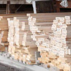 Harlem Lumber Display of Lumber