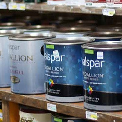Valspar paint at Harlem Lumber