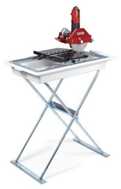 "Tile Saw, 1-1/4 HP 7"" W/Stand"